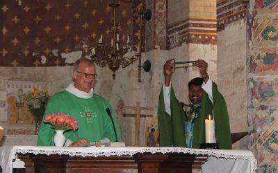 Messe d'installation de notre nouveau curé : bienvenue Père Alphonse !