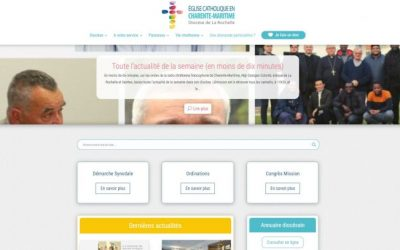 Le site internet diocésain fait peau neuve