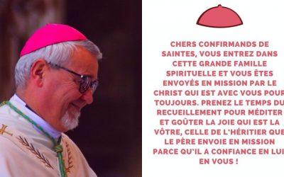 Homélie de Mgr Colomb – dimanche 30 mai 2021