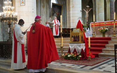 Homélie de Mgr Georges Colomb – Messe du 5e dimanche de Pâques à Saintes