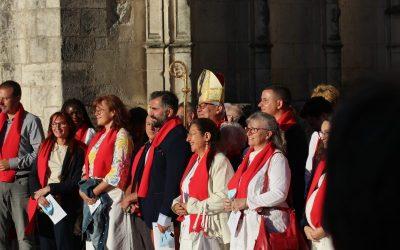 Homélie de Mgr Georges Colomb – messe de la Pentecôte à Saintes