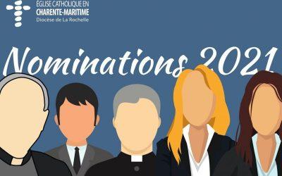 Nominations (2e partie) – juin 2021
