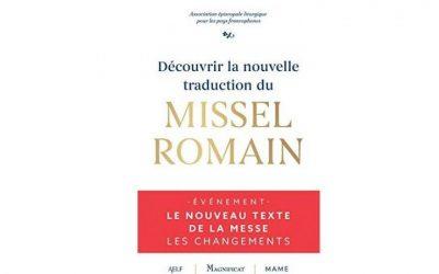 Le Père Guillaume Salin décrypte la nouvelle traduction du missel romain