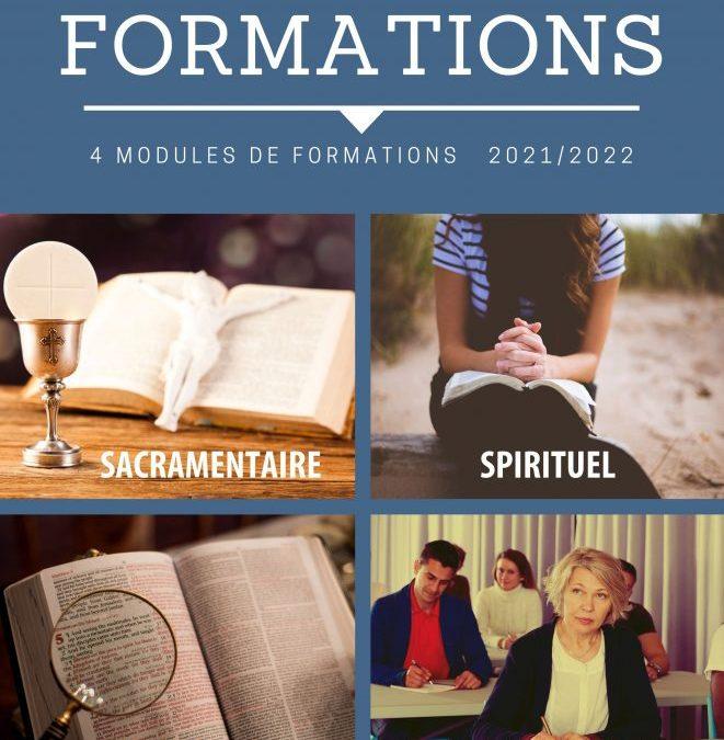 Pôle Annonce de la Foi : quatre modules de formation