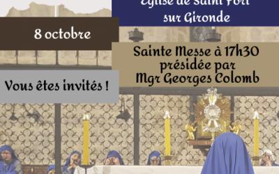 Installation d'une communauté de soeurs à Saint-Fort-sur-Gironde